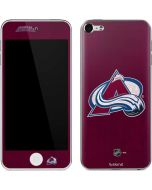 Colorado Avalanche Distressed Apple iPod Skin