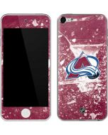 Colorado Avalanche Frozen Apple iPod Skin