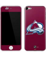 Colorado Avalanche Solid Background Apple iPod Skin