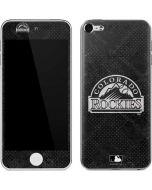 Colorado Rockies Dark Wash Apple iPod Skin