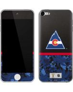 Colorado Avalanche Retro Tropical Print Apple iPod Skin