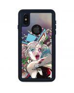 Colorful Harley Quinn iPhone X Waterproof Case