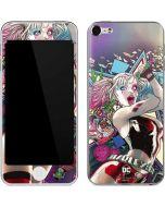 Colorful Harley Quinn Apple iPod Skin