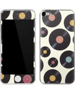 Colorful Records Apple iPod Skin