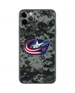 Columbus Blue Jackets Camo iPhone 11 Pro Max Skin