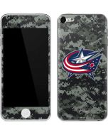 Columbus Blue Jackets Camo Apple iPod Skin