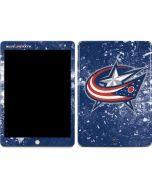 Columbus Blue Jackets Frozen Apple iPad Skin