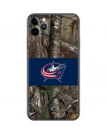 Columbus Blue Jackets Realtree Xtra Camo iPhone 11 Pro Max Skin