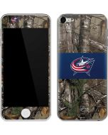 Columbus Blue Jackets Realtree Xtra Camo Apple iPod Skin