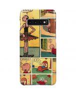 Comic Strip Popeye Galaxy S10 Plus Lite Case