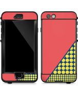 Coral Diagonal Split LifeProof Nuud iPhone Skin