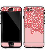 Coral Spring Sprinkles LifeProof Nuud iPhone Skin
