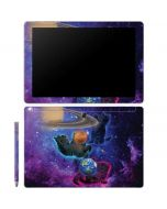 Cosmic Kittens Galaxy Book 12in Skin