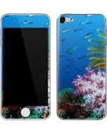 Crinoid and a Soft Coral Tree Apple iPod Skin