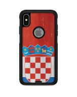 Croatia Flag Distressed Otterbox Commuter iPhone Skin