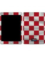Croatia Soccer Flag Apple iPad Skin