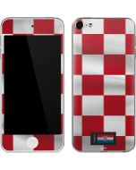 Croatia Soccer Flag Apple iPod Skin