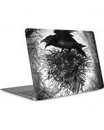 Crow and Skull Apple MacBook Air Skin