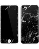 Crushed Black Apple iPod Skin