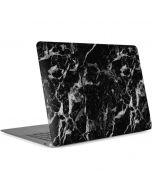 Crushed Black Apple MacBook Air Skin