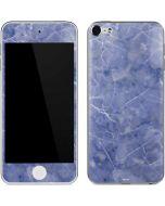 Crushed Blue Apple iPod Skin