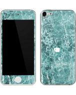 Crushed Turquoise  Apple iPod Skin