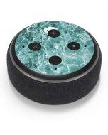 Crushed Turquoise  Amazon Echo Dot Skin