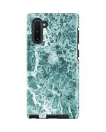 Crushed Turquoise Galaxy Note 10 Pro Case