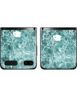 Crushed Turquoise Galaxy Z Flip Skin