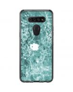 Crushed Turquoise LG K51/Q51 Clear Case