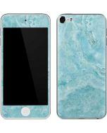 Crystal Turquoise Apple iPod Skin