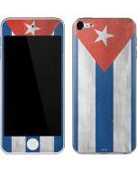 Cuban Flag Distressed Apple iPod Skin