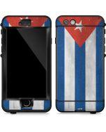Cuban Flag Distressed LifeProof Nuud iPhone Skin