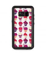 Cupcakes Galaxy S8 Plus Waterproof Case