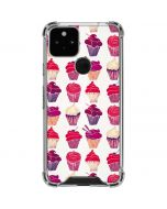 Cupcakes Google Pixel 5 Clear Case