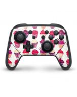 Cupcakes Nintendo Switch Pro Controller Skin