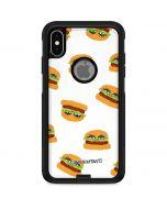 Cute Burgers Otterbox Commuter iPhone Skin