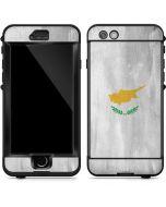 Cyprus Flag Distressed LifeProof Nuud iPhone Skin