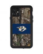 Nashville Predators Realtree Xtra Camo iPhone 11 Waterproof Case