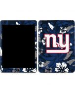 New York Giants Tropical Print Apple iPad Air Skin