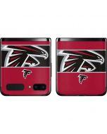 Atlanta Falcons Zone Block Galaxy Z Flip Skin