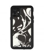 Marbleized Black iPhone 11 Waterproof Case