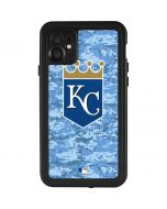 Kansas City Royals Digi Camo iPhone 11 Waterproof Case