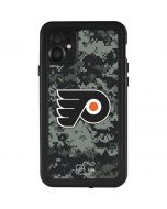 Philadelphia Flyers Camo iPhone 11 Waterproof Case