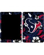 Houston Texans Tropical Print Apple iPad Air Skin