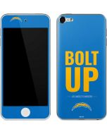 Los Angeles Chargers Team Motto Apple iPod Skin