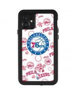 Philadelphia 76ers Blast iPhone 11 Waterproof Case