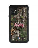 Atlanta Braves Realtree Xtra Green Camo iPhone 11 Waterproof Case