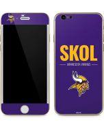 Minnesota Vikings Team Motto iPhone 6/6s Skin