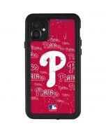 Philadelphia Phillies - Cap Logo Blast iPhone 11 Waterproof Case